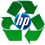 logo recyclage encre par HP