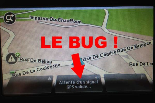 bug gps tomtom