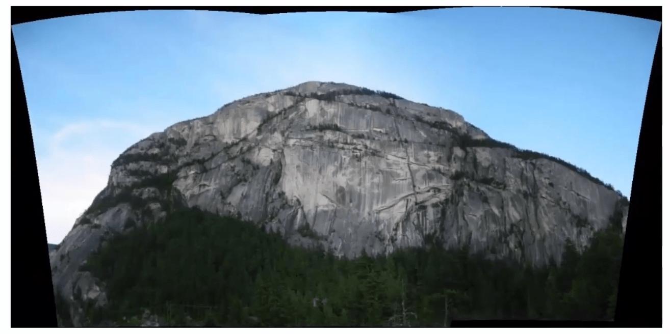 résultat panoramique autostitch