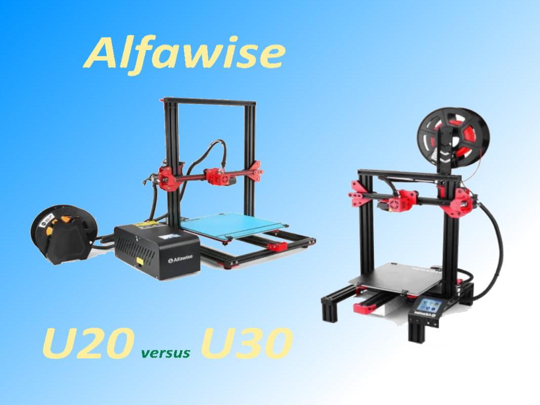 comparatif Alfawise U20 et U30