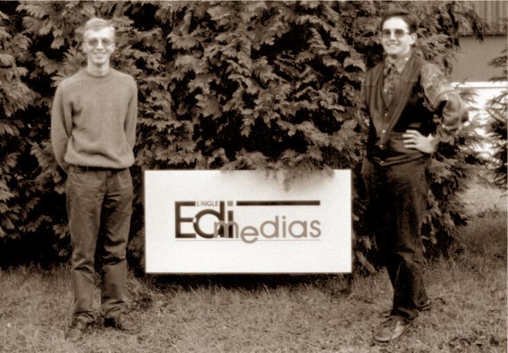 création de l'entreprise avistanet en 1995