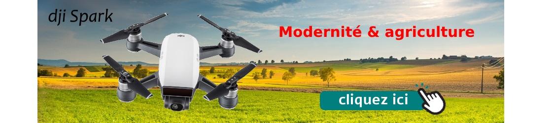 dji Spark un drone pour l'agriculture