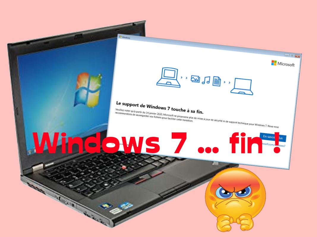fin de windows 7 en 2020