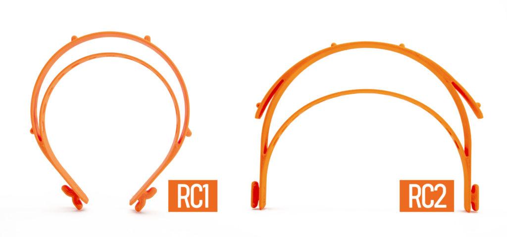 visières PRUSA RC1 et RC2