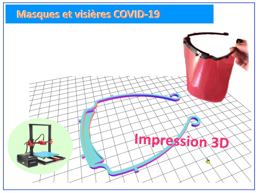 masque et visières COVID-19